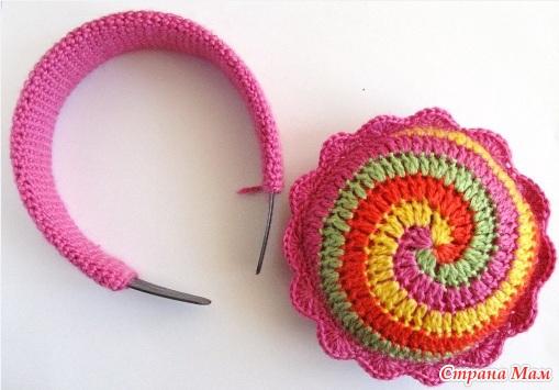 Вязание наушников на спицах