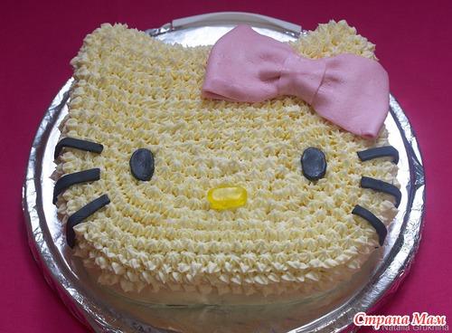 Рецепты детских тортов с фото пошагово