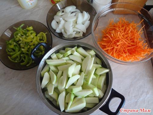 картинки с рецептами кабачки маринованные