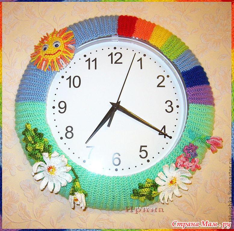 Часы с картинкой своими руками