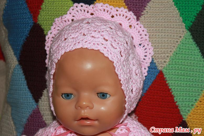 Вязание крючком для куклы беби