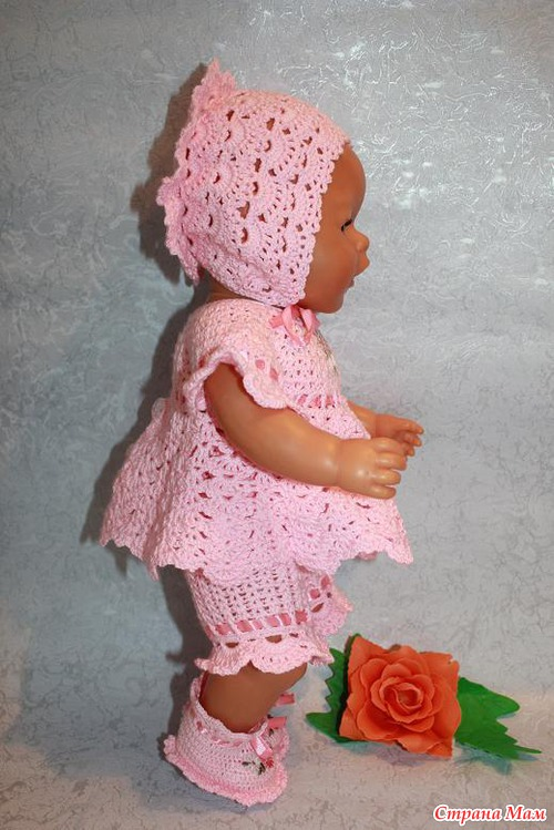 Страна мам вязание кукол спицами