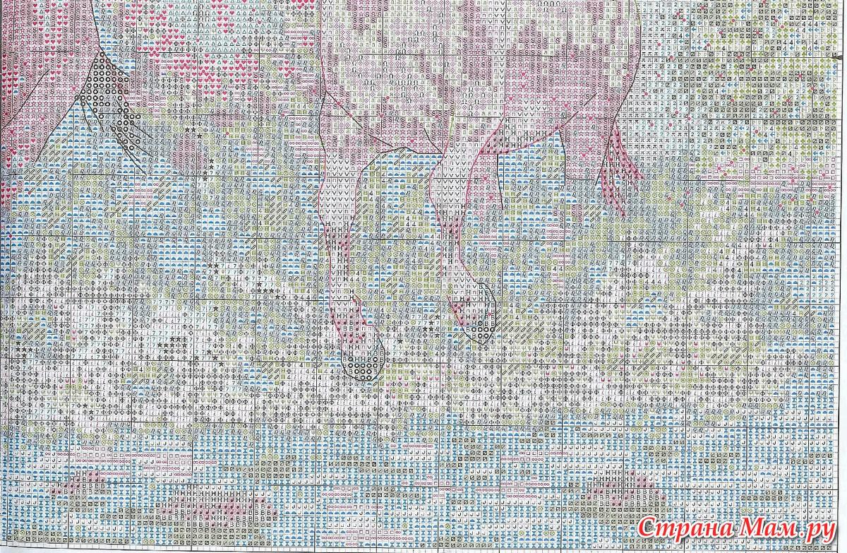 Схема вышивки dimensions 35214