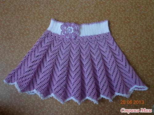 Вязание юбочка для девочки 5 лет 91