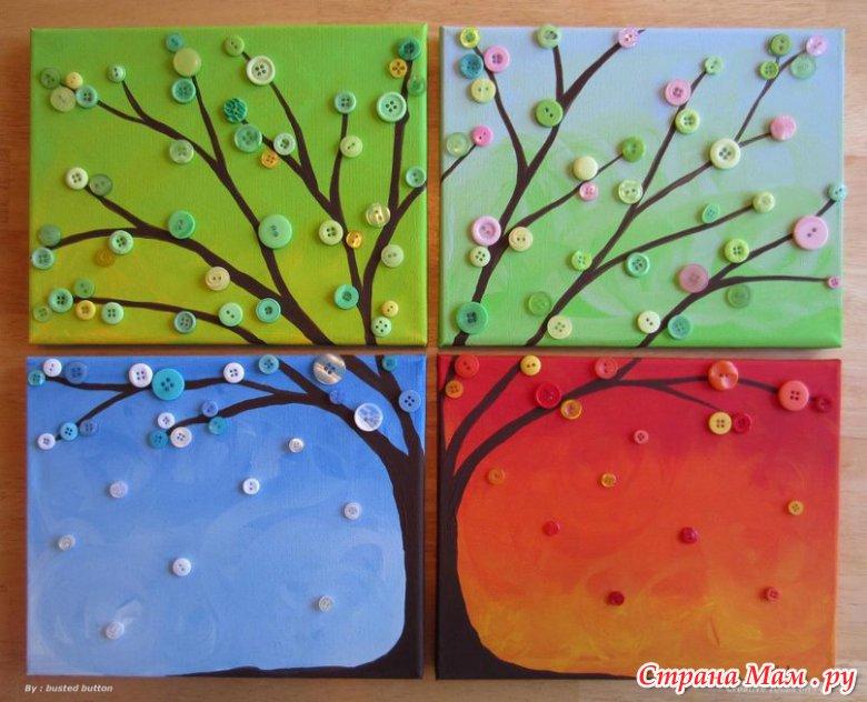 Оригинальные деревья своими руками