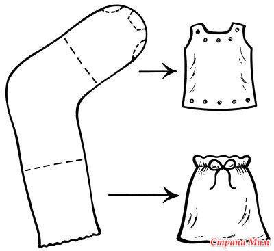 Как сшить футболку для барби
