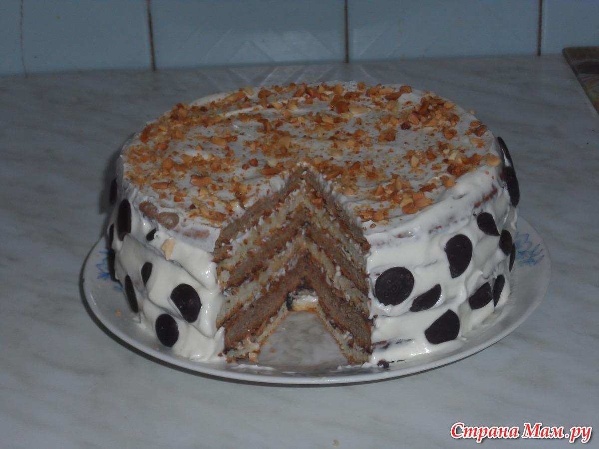 Торт Мишка на Севере - кулинарный рецепт - Поваренок 46