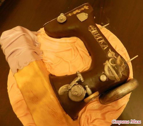 Торт швейная машинка фото и описание