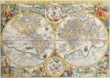 Вышивка крестом старинная карта мира голден кайт краснодар игровые автоматы