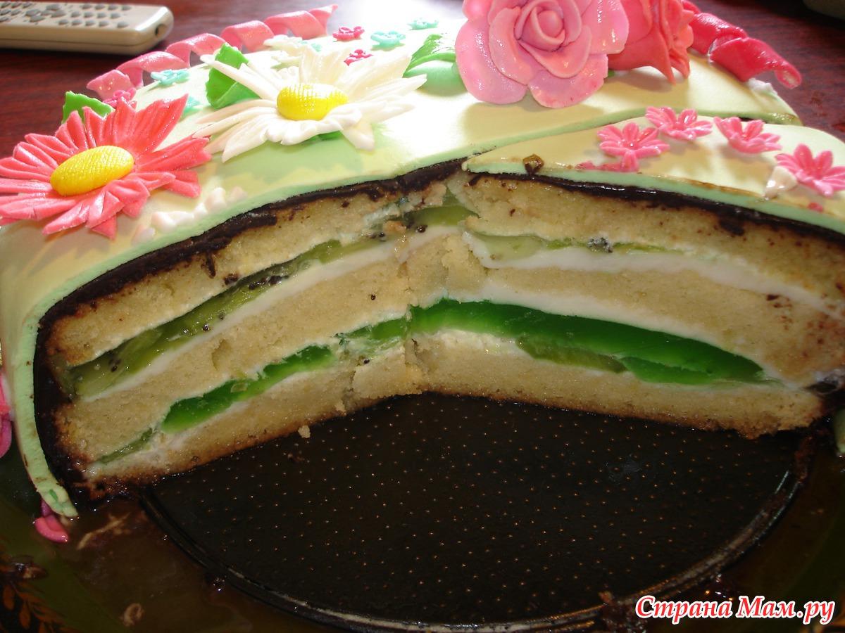 Торт из клубники рецепт с фото пошагово без выпечки