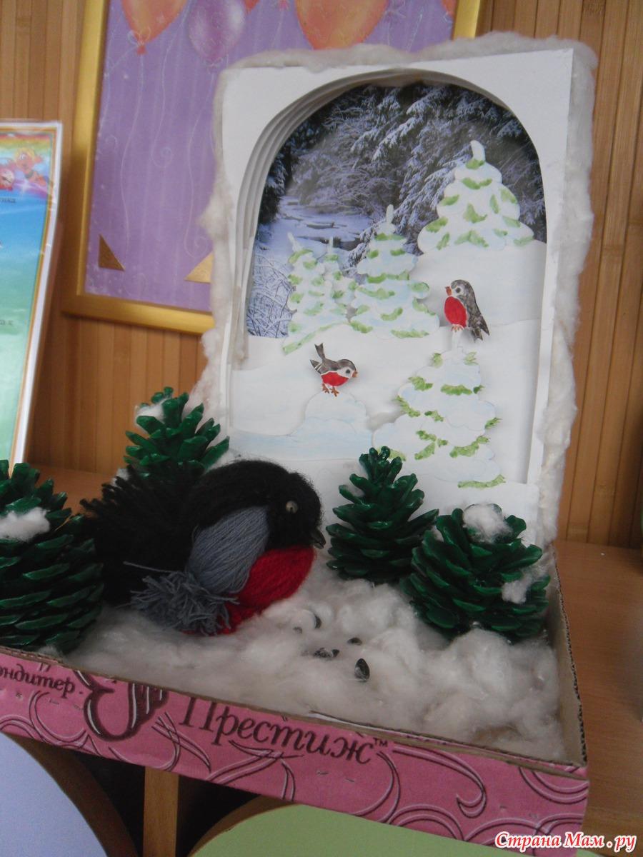 Зимние поделки в детский сад своими руками фото