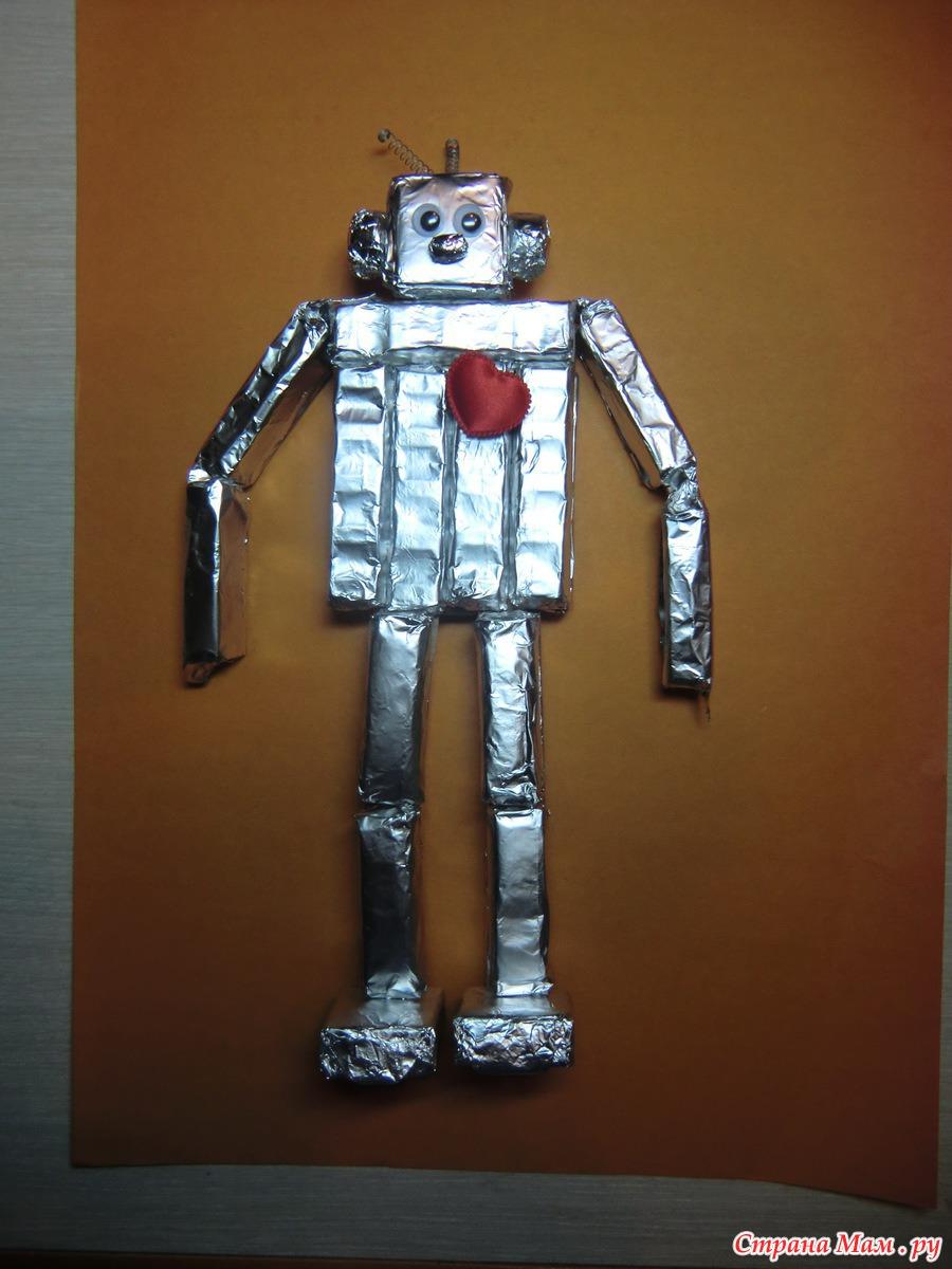 Поделки роботов своими руками из бумаги