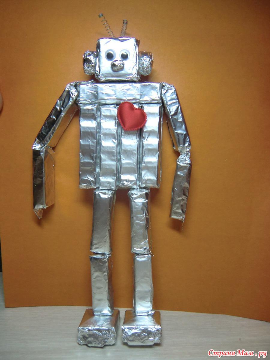 Как сделать робота своими руками / Схемы, чертежи, видео 41