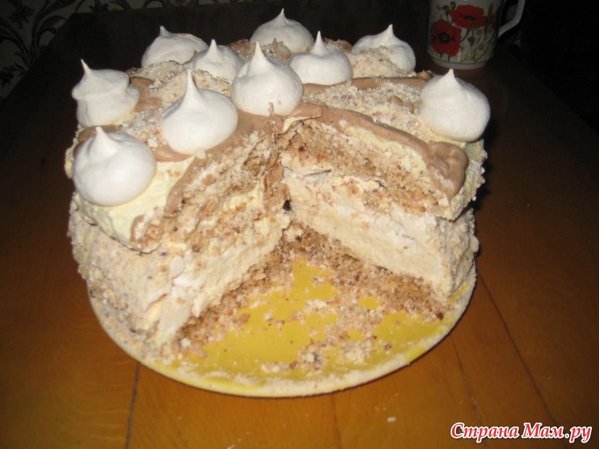 Сухой торт в домашних условиях 937