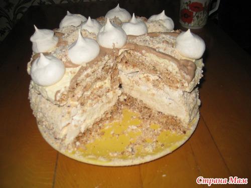Торт ярославна рецепт с фото