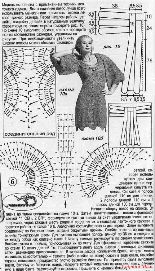 Модель из Журнала Мод 545