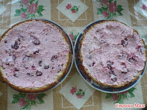 Рецепты торта пьяная вишня на водяной бане фото