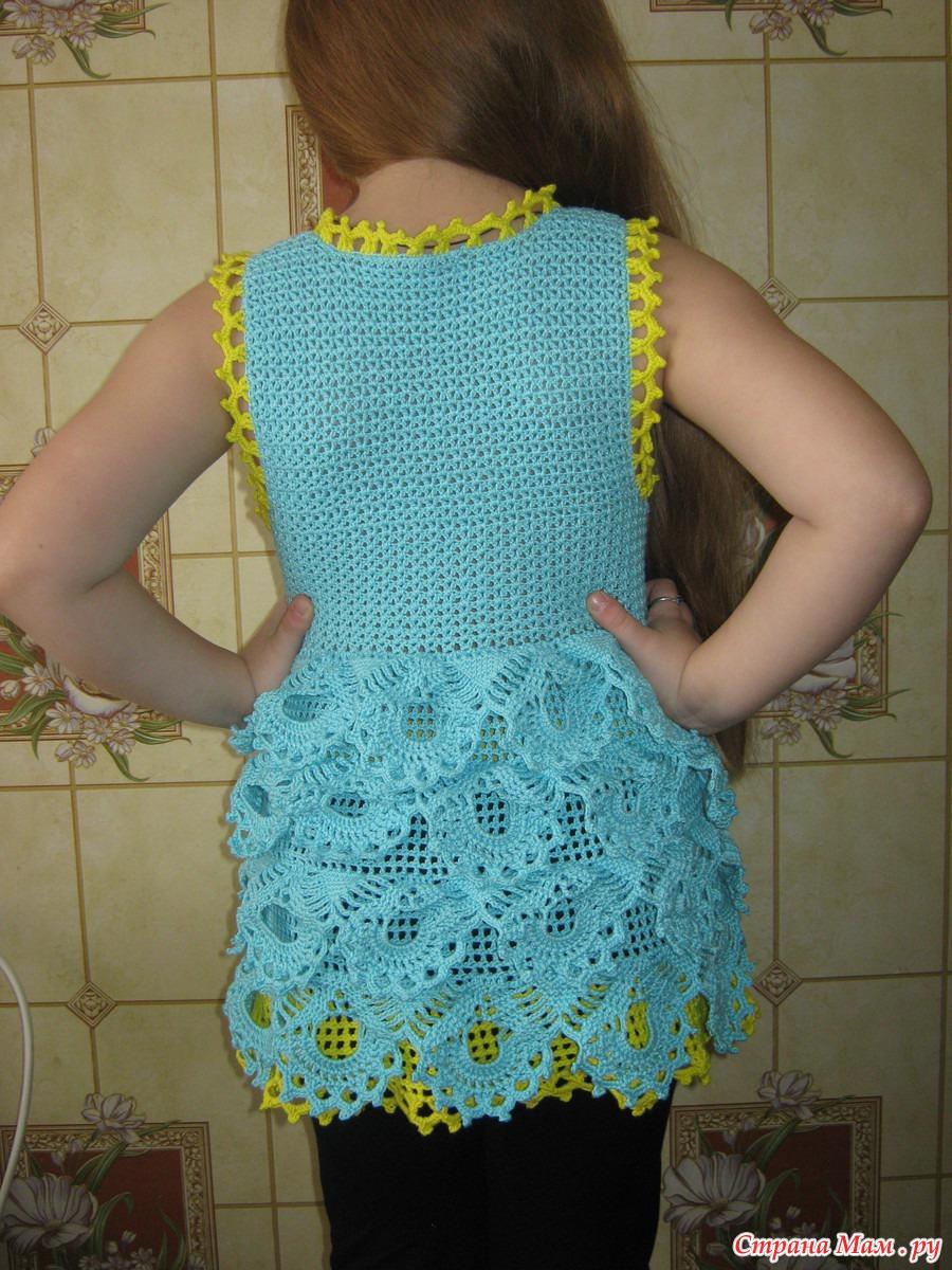 Платье крючком - Страна Мам 25