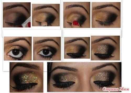 Пошаговый макияж в домашних условиях