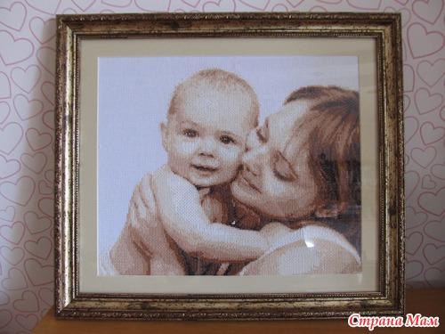 Вышивка мой малыш фото