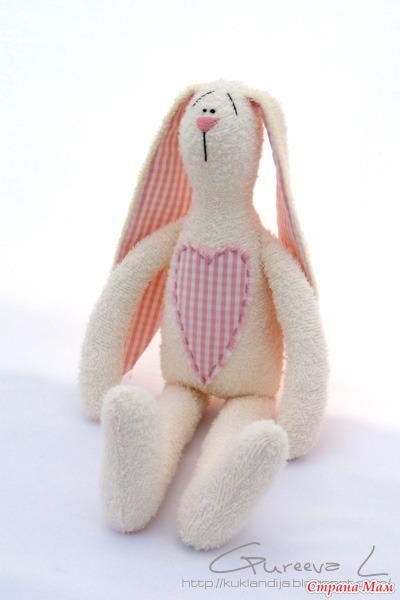 Игрушки зайцы тильды своими руками