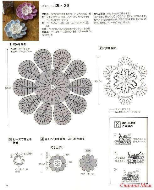 Урок 20 Двухслойный цветок