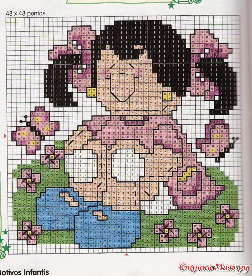 Программа из фото сделать схемы вышивки крестом