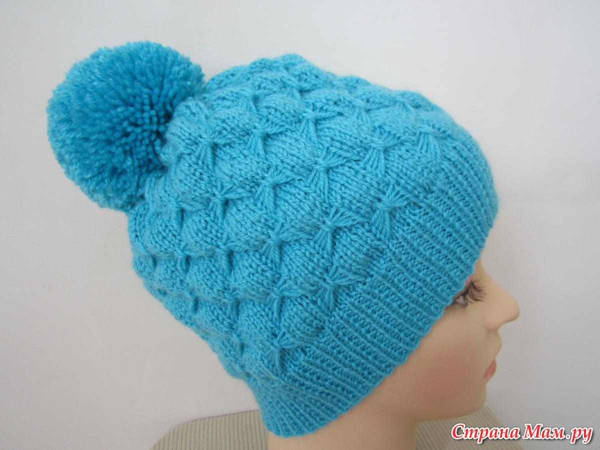 Детские шапочки образцы вязания 66