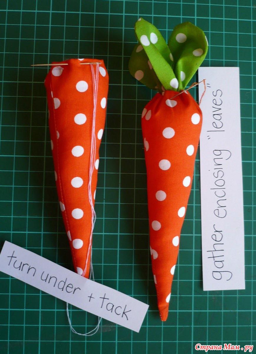 Как сделать морковь своими руками