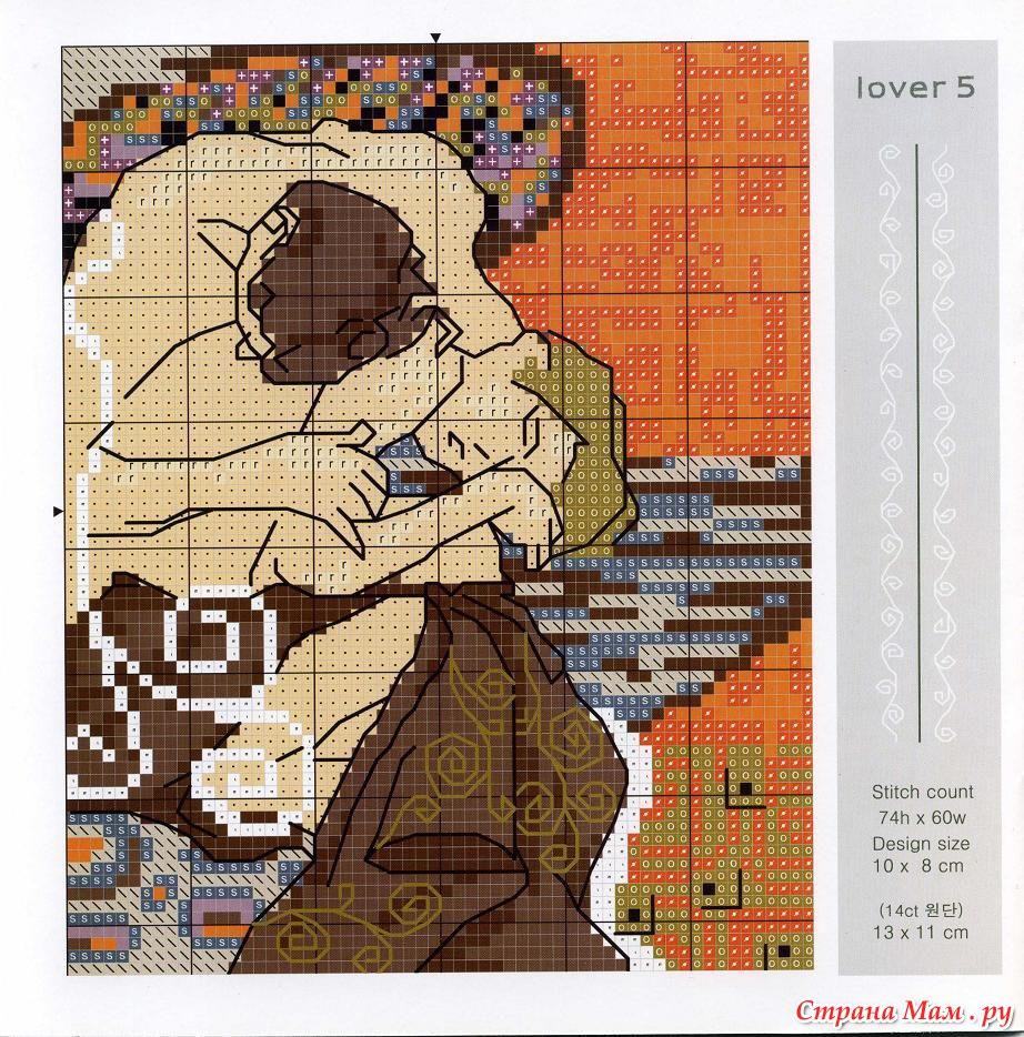 Схемы вышивок крестом картины русских художников