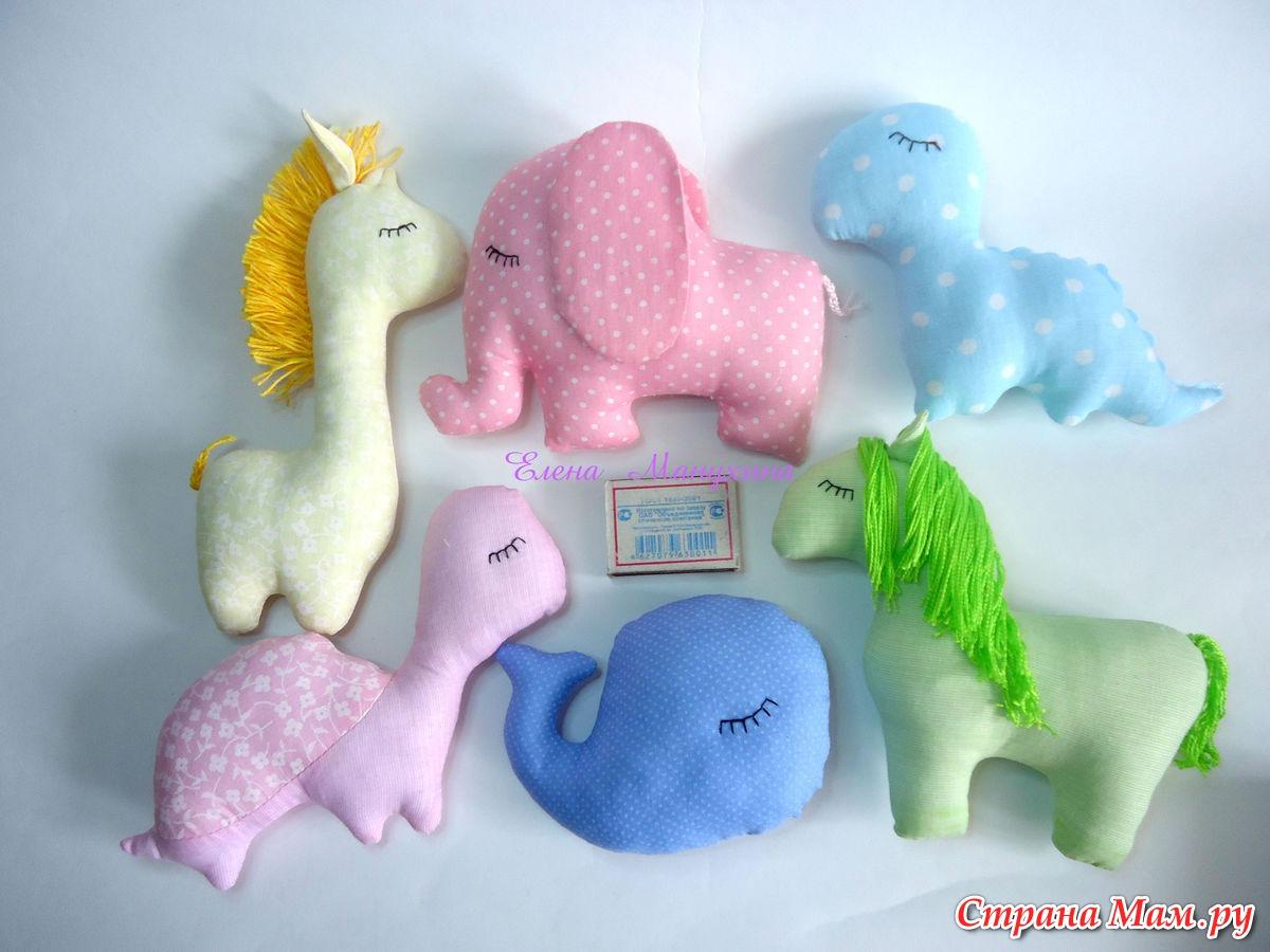 Мягкие игрушки своими руками - вязаная овечка крючком