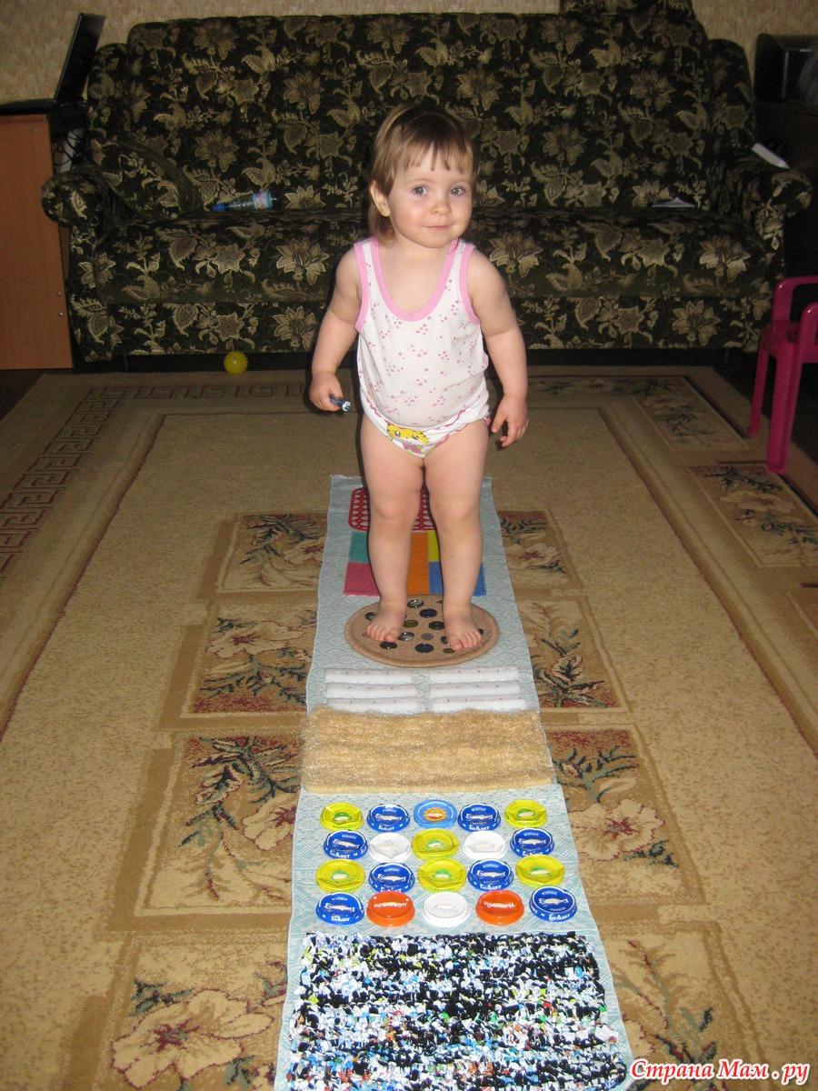 Самодельный коврик массажный для детей фото