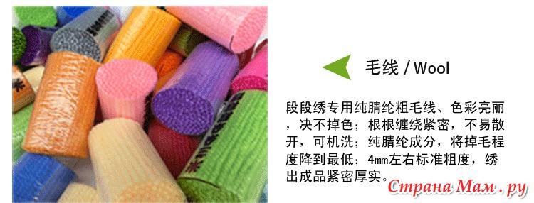 набор для вышивки ковров
