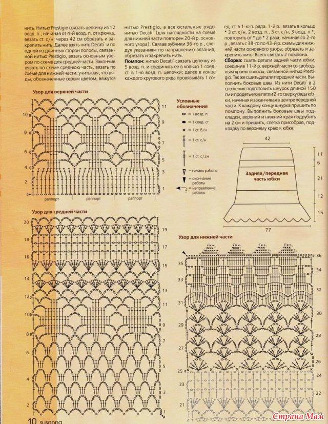 Схема вязания из фотографий