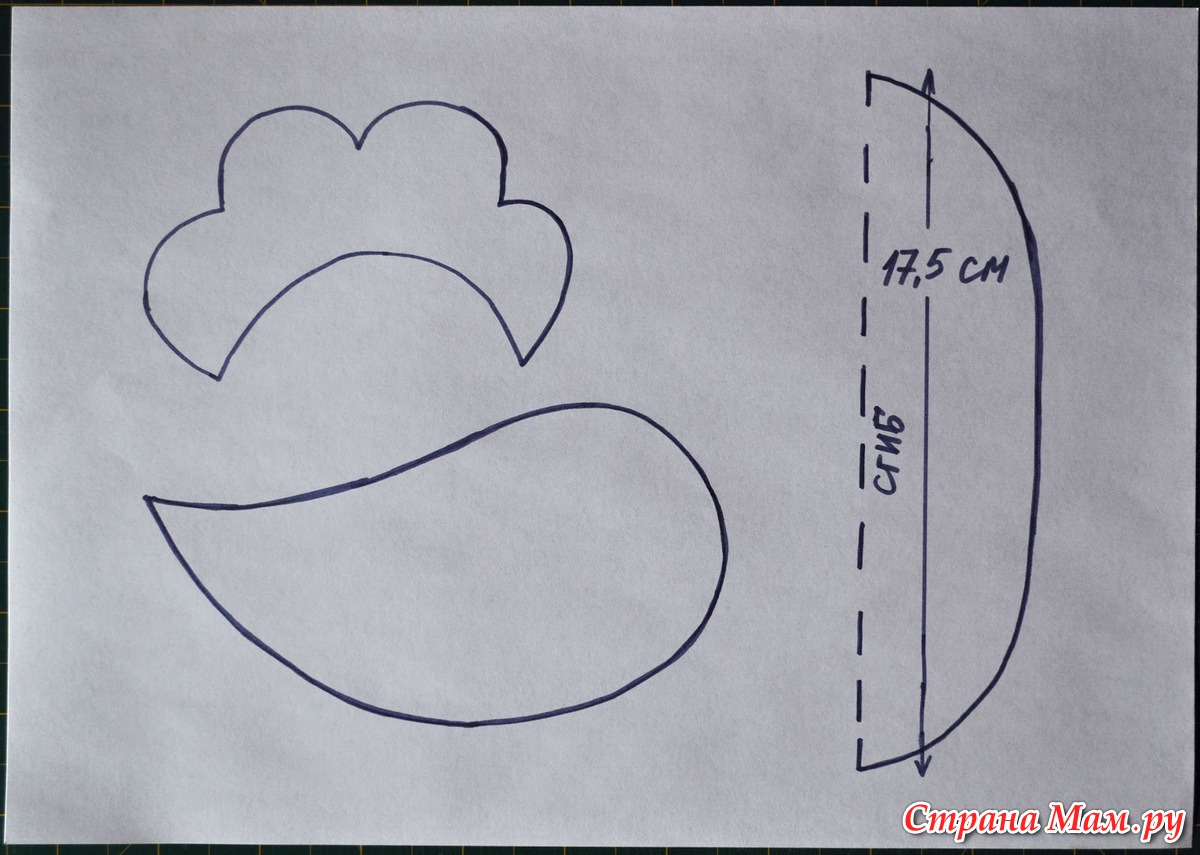 Как сделать петушиный гребешок