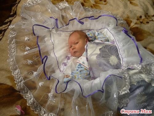 Как сшить пододеяльник для новорожденного на выписку