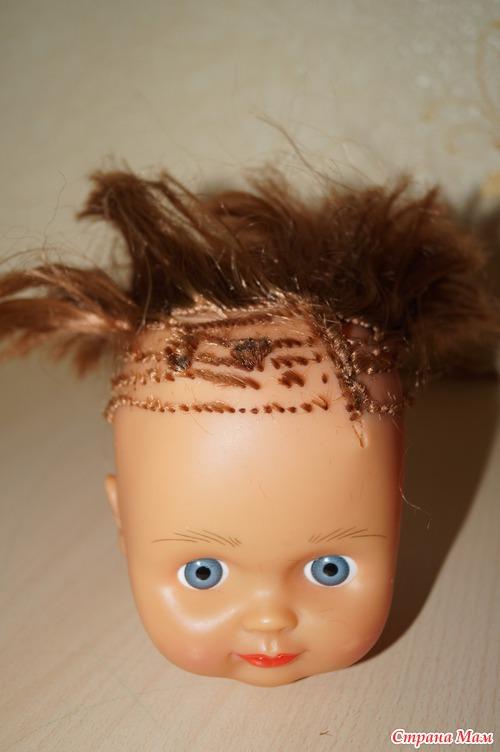 Как восстановить кукле волосы
