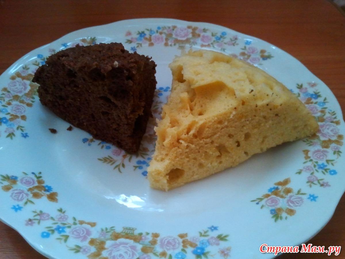 Бисквит в микроволновке рецепты