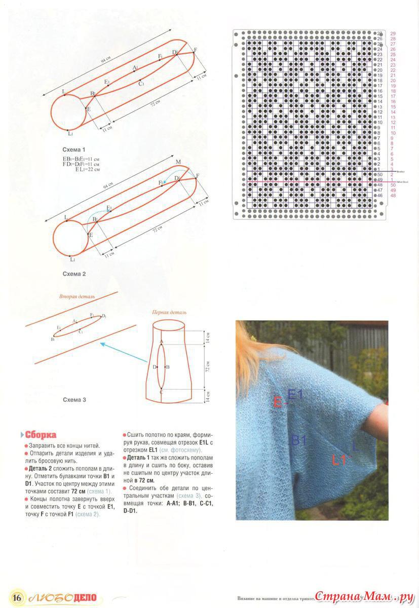 Журнал вязание любо дело 2015