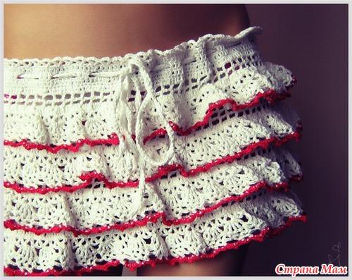Пляжные юбочки.
