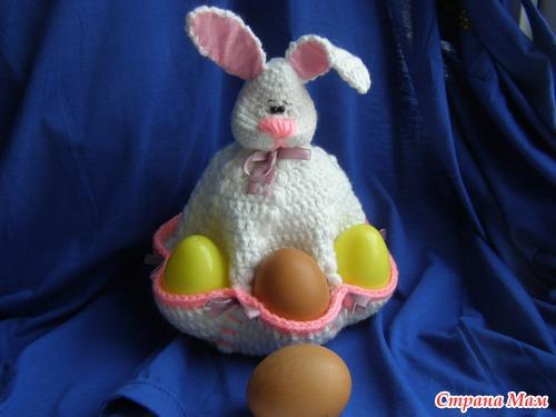 Пасхальный заяц с кармашками