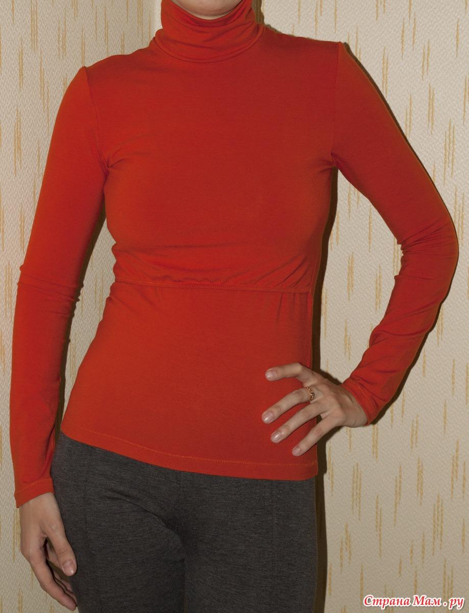 Как сшить из трикотажа пуловер