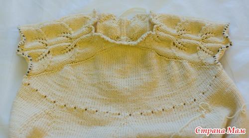 Платье для девочки с вышивкой, описание