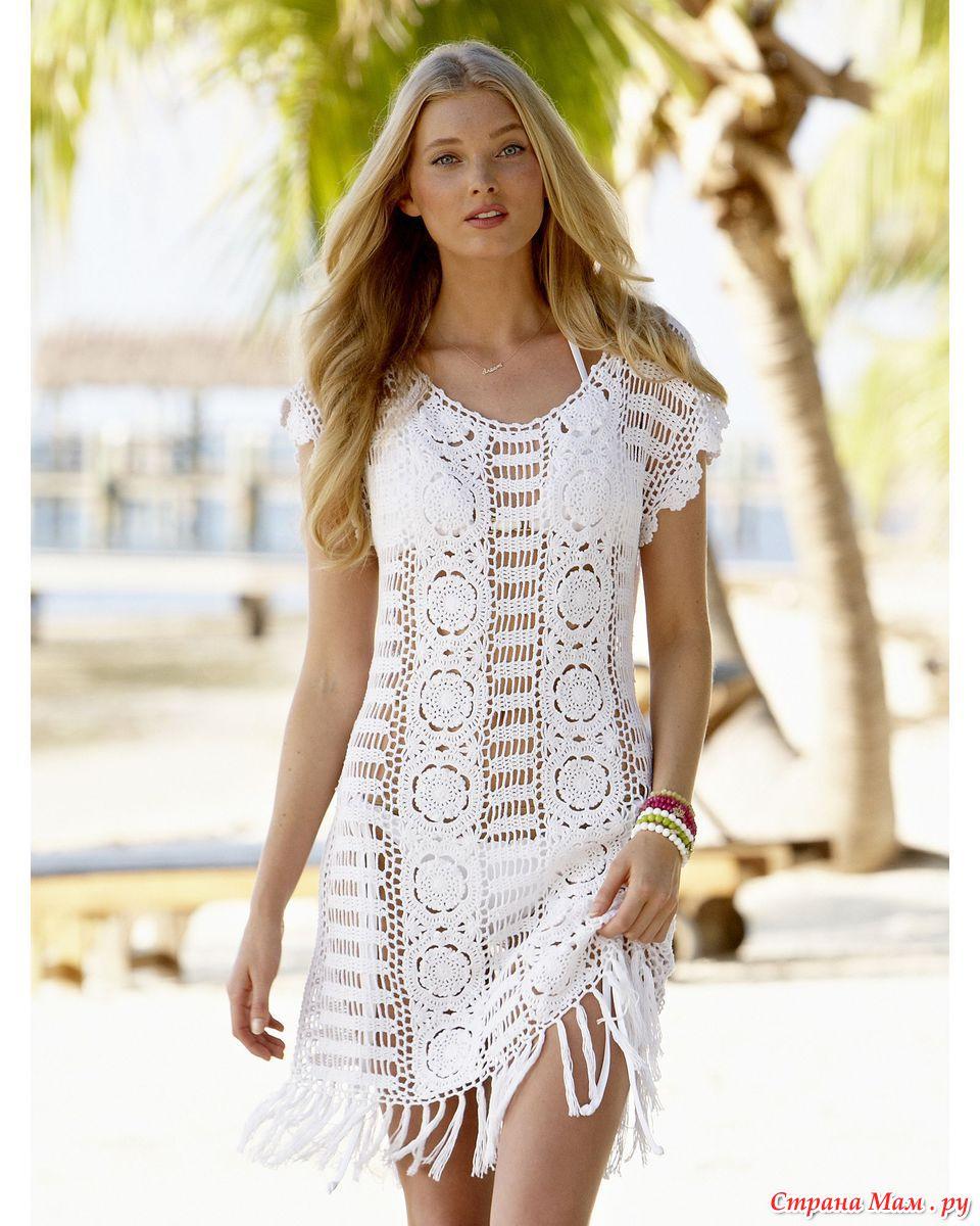 Вязание крючком для девушки модные модели