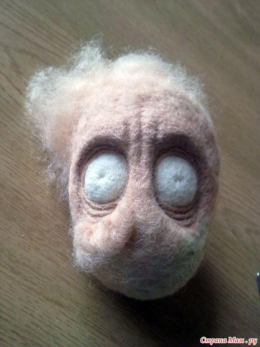Кукла на каркасе из проволоки