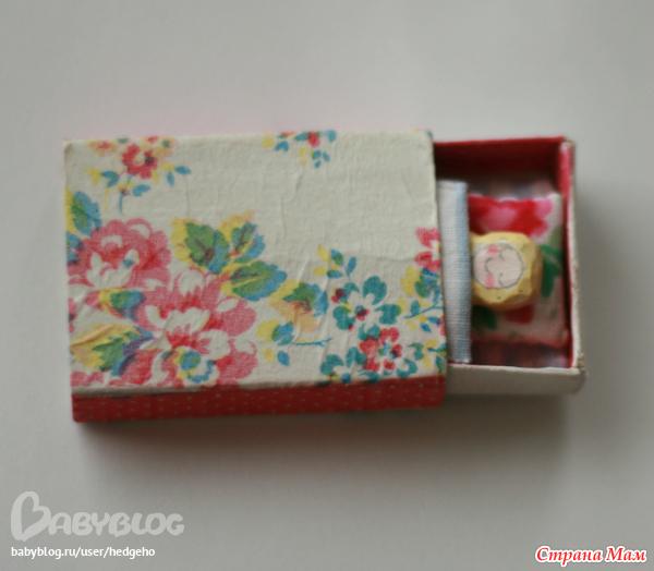 Поделки из спичечных коробков (идеи из инета) - Развиваем ребенка дома (от 0 до 7 лет) - Страна Мам