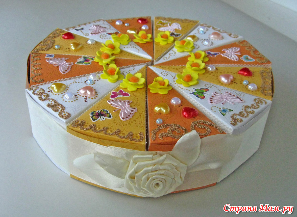 Торт три шоколада Тапочек Красивые поделки маме