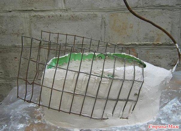 Лебеди из цемента фото