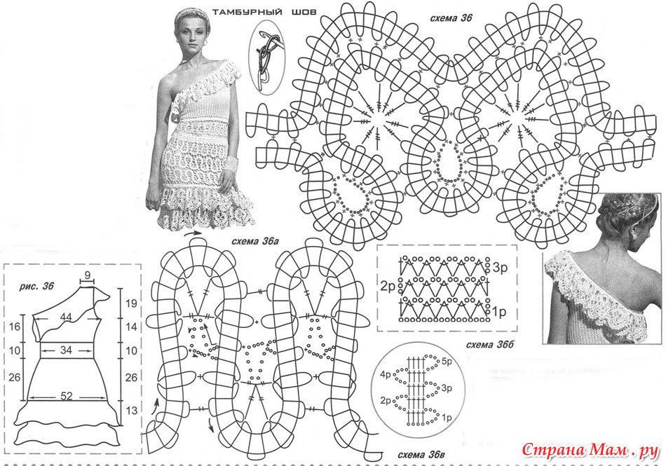 *Платье из брюгского кружева