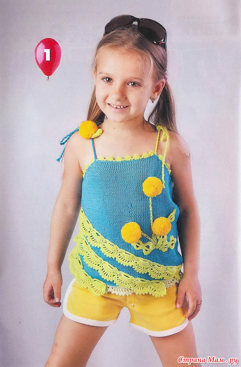 Детское вязание для девочек топики